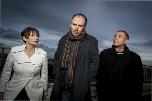 Jennifer O'Dea, Don Wycherly and Michael Glenn Murphy in 'Faith' by Paul Meade